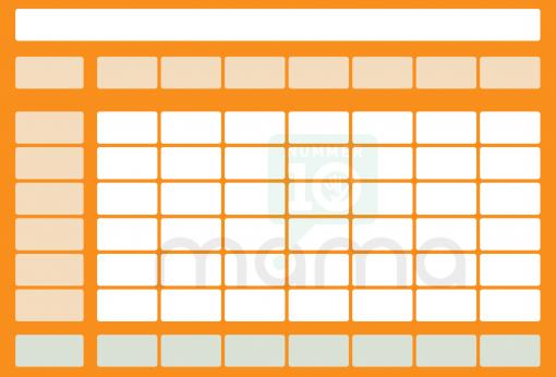 gratis multipurpose printable oranje