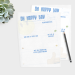 Printable Oh happy day – GRATIS (NIEUW IN DE SHOP)