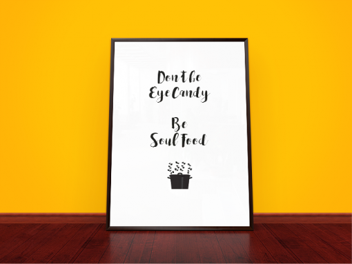 poster soul food