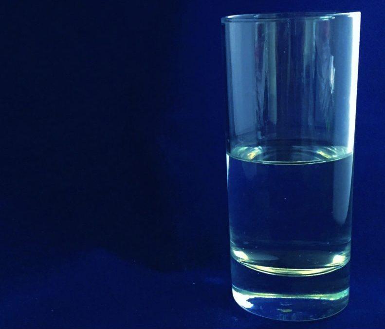 Is jouw glas half vol…..?