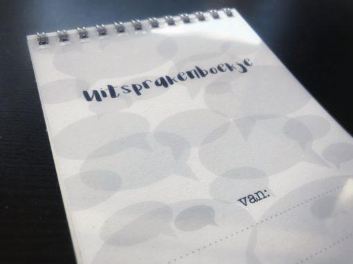 Voorkant-Uitsprakenboekje